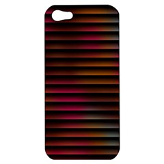 Colorful Venetian Blinds Effect Apple Iphone 5 Hardshell Case