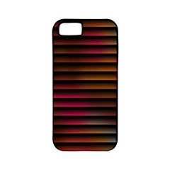 Colorful Venetian Blinds Effect Apple Iphone 5 Classic Hardshell Case (pc+silicone)