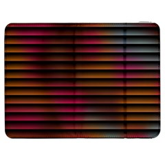 Colorful Venetian Blinds Effect Samsung Galaxy Tab 7  P1000 Flip Case