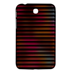 Colorful Venetian Blinds Effect Samsung Galaxy Tab 3 (7 ) P3200 Hardshell Case