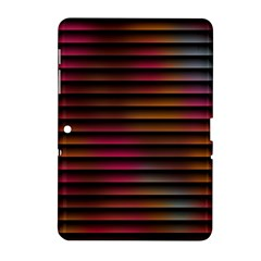 Colorful Venetian Blinds Effect Samsung Galaxy Tab 2 (10.1 ) P5100 Hardshell Case