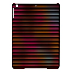 Colorful Venetian Blinds Effect iPad Air Hardshell Cases