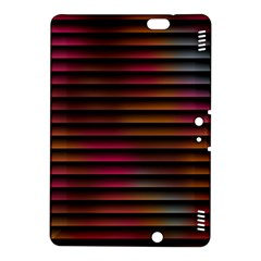 Colorful Venetian Blinds Effect Kindle Fire HDX 8.9  Hardshell Case