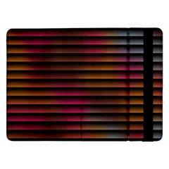 Colorful Venetian Blinds Effect Samsung Galaxy Tab Pro 12.2  Flip Case