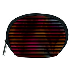 Colorful Venetian Blinds Effect Accessory Pouches (Medium)