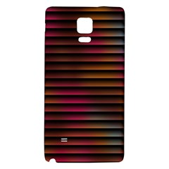 Colorful Venetian Blinds Effect Galaxy Note 4 Back Case