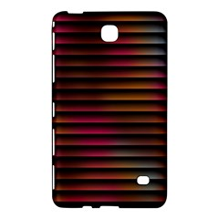 Colorful Venetian Blinds Effect Samsung Galaxy Tab 4 (8 ) Hardshell Case