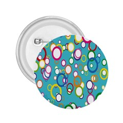 Circles Abstract Color 2.25  Buttons