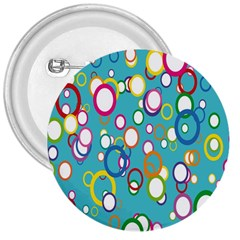 Circles Abstract Color 3  Buttons