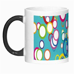 Circles Abstract Color Morph Mugs