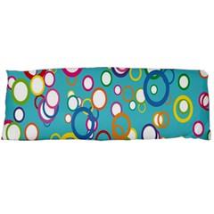 Circles Abstract Color Body Pillow Case (Dakimakura)