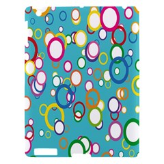 Circles Abstract Color Apple Ipad 3/4 Hardshell Case