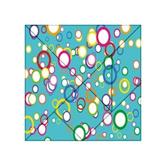 Circles Abstract Color Acrylic Tangram Puzzle (4  x 4 )