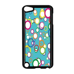 Circles Abstract Color Apple iPod Touch 5 Case (Black)