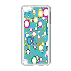 Circles Abstract Color Apple Ipod Touch 5 Case (white)