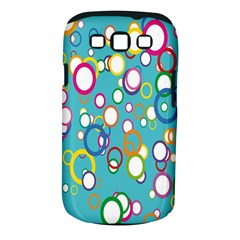 Circles Abstract Color Samsung Galaxy S III Classic Hardshell Case (PC+Silicone)