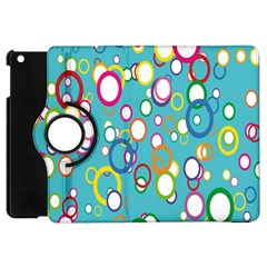 Circles Abstract Color Apple iPad Mini Flip 360 Case