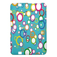 Circles Abstract Color Kindle Fire HD 8.9