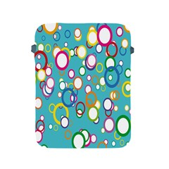Circles Abstract Color Apple iPad 2/3/4 Protective Soft Cases