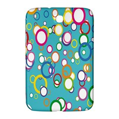 Circles Abstract Color Samsung Galaxy Note 8.0 N5100 Hardshell Case