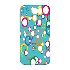 Circles Abstract Color Samsung Galaxy S4 I9500/I9505  Hardshell Back Case