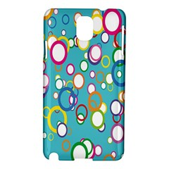 Circles Abstract Color Samsung Galaxy Note 3 N9005 Hardshell Case