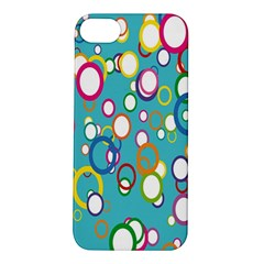 Circles Abstract Color Apple iPhone 5S/ SE Hardshell Case
