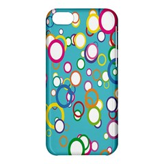 Circles Abstract Color Apple iPhone 5C Hardshell Case