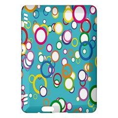 Circles Abstract Color Kindle Fire HDX Hardshell Case