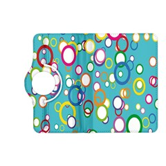 Circles Abstract Color Kindle Fire Hd (2013) Flip 360 Case
