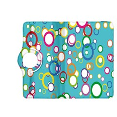 Circles Abstract Color Kindle Fire HDX 8.9  Flip 360 Case