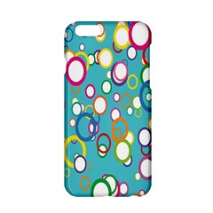 Circles Abstract Color Apple iPhone 6/6S Hardshell Case