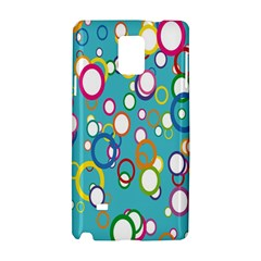 Circles Abstract Color Samsung Galaxy Note 4 Hardshell Case