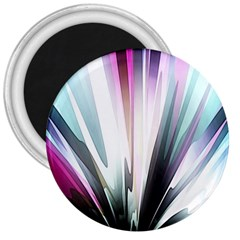 Flower Petals Abstract Background Wallpaper 3  Magnets