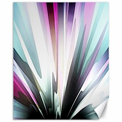 Flower Petals Abstract Background Wallpaper Canvas 11  x 14