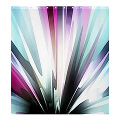 Flower Petals Abstract Background Wallpaper Shower Curtain 66  X 72  (large)