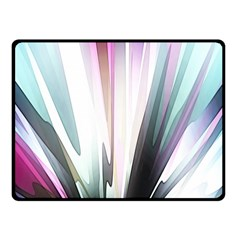Flower Petals Abstract Background Wallpaper Fleece Blanket (Small)