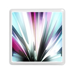 Flower Petals Abstract Background Wallpaper Memory Card Reader (square)