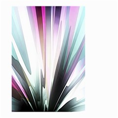 Flower Petals Abstract Background Wallpaper Small Garden Flag (Two Sides)