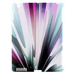 Flower Petals Abstract Background Wallpaper Apple iPad 3/4 Hardshell Case (Compatible with Smart Cover)