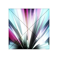 Flower Petals Abstract Background Wallpaper Acrylic Tangram Puzzle (4  X 4 )