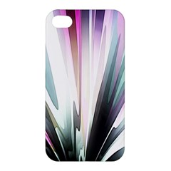 Flower Petals Abstract Background Wallpaper Apple iPhone 4/4S Premium Hardshell Case