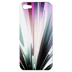 Flower Petals Abstract Background Wallpaper Apple iPhone 5 Hardshell Case