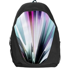 Flower Petals Abstract Background Wallpaper Backpack Bag