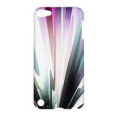 Flower Petals Abstract Background Wallpaper Apple iPod Touch 5 Hardshell Case
