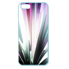 Flower Petals Abstract Background Wallpaper Apple Seamless iPhone 5 Case (Color)