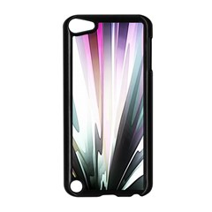 Flower Petals Abstract Background Wallpaper Apple iPod Touch 5 Case (Black)