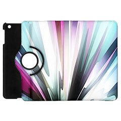 Flower Petals Abstract Background Wallpaper Apple iPad Mini Flip 360 Case
