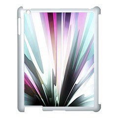 Flower Petals Abstract Background Wallpaper Apple Ipad 3/4 Case (white)