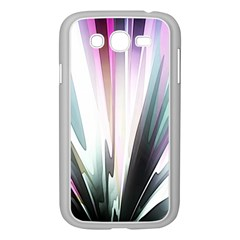 Flower Petals Abstract Background Wallpaper Samsung Galaxy Grand DUOS I9082 Case (White)